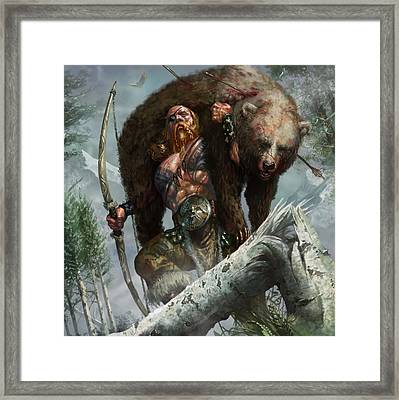 Lethal Pioneer Framed Print by Ryan Barger