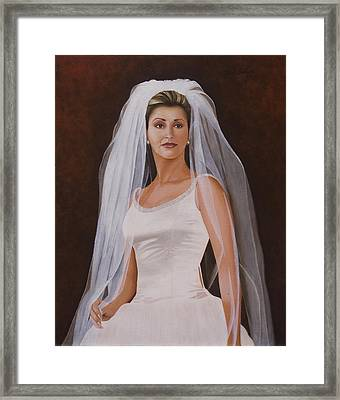 Leticia Framed Print by Kirk Graham