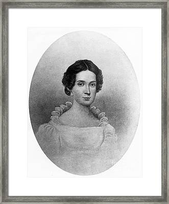 Letitia Tyler, First Lady Framed Print