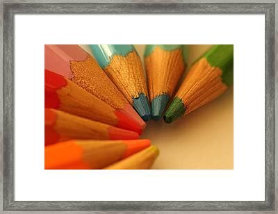 Lets Be Creative Framed Print by David Warrington