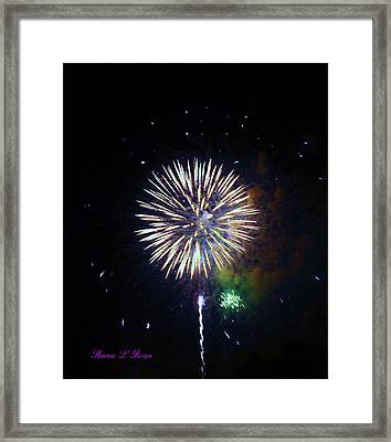 Framed Print featuring the photograph Lets Celebrate by Shana Rowe Jackson