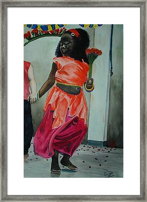 Let's Dance Framed Print by Dwight Williams