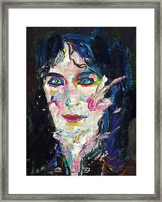 Framed Print featuring the painting Let's Feel Alive by Fabrizio Cassetta