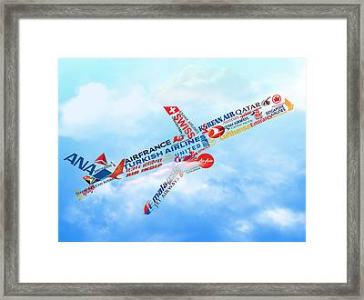 Let's Fly Framed Print by Art Spectrum