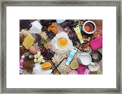 Lets Get Baking Framed Print by Tim Gainey