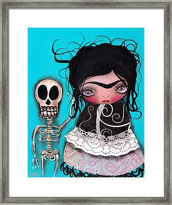 Lets Go Dancing Framed Print by  Abril Andrade Griffith