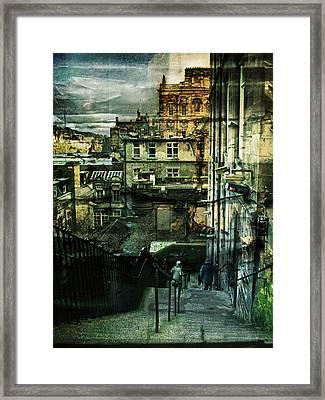 Lets Go Down Together Framed Print by Dorit Fuhg