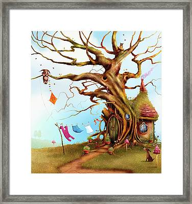Let's Go Fly A Kite Framed Print