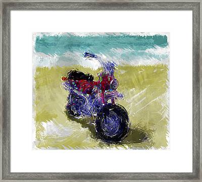 Lets Go For A Ride Framed Print by Russell Pierce