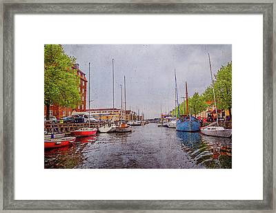 Let's Go Sailing Out On The Sea You And Me Framed Print