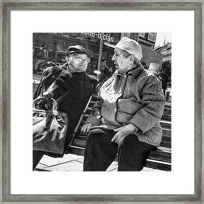 Let's Go Sole!! #women #portrait Framed Print