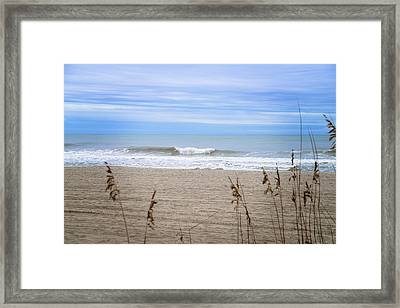 Let's Go To The Beach Framed Print by Mary Timman