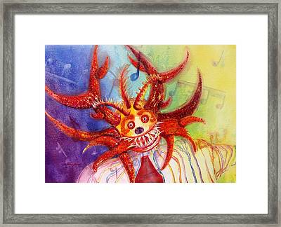 Lets Go To The Carnival Framed Print by Estela Robles