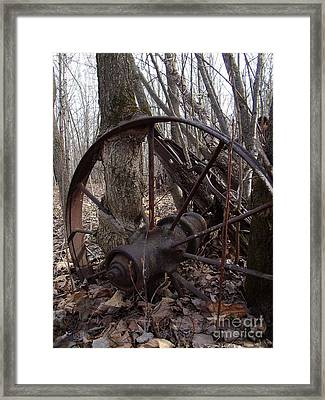 Lets Grow Old Together Framed Print by The Stone Age