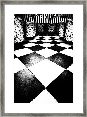 Let's Play Chess Framed Print by Vadim Goodwill