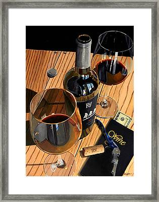 Let's Rendezvous Framed Print by Brien Cole