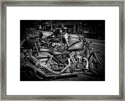 Let's Ride Framed Print by Marvin Spates