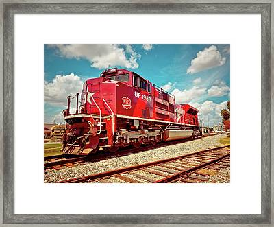 Let's Ride The Katy Framed Print by Linda Unger