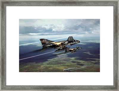 Let's Rock And Roll Framed Print by Peter Chilelli