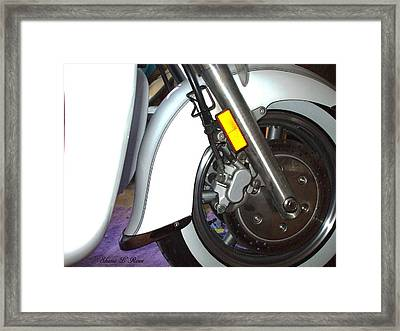 Framed Print featuring the photograph Lets Roll by Shana Rowe Jackson