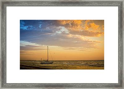 Let's Sail Away Framed Print by Marvin Spates