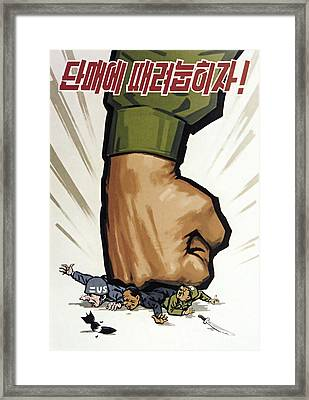 Let's Smash Them In A Single Blow Framed Print by Daniel Hagerman