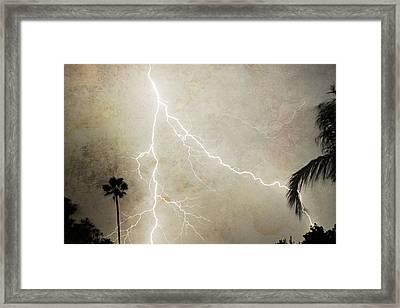 Let's Split Framed Print by James BO  Insogna
