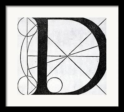 Divine Proportions Framed Prints