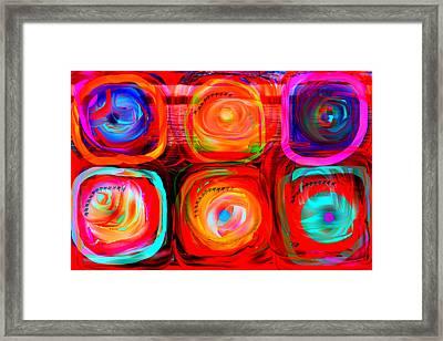 Letter To Kandinsky  Framed Print