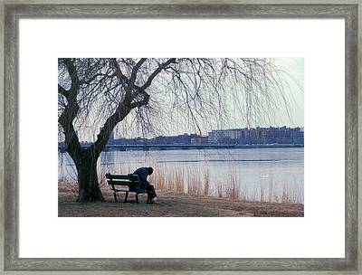 Framed Print featuring the photograph Letter To My Sweetheart by Carol Kinkead