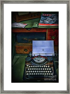 Letters To Home Framed Print by Paul Ward