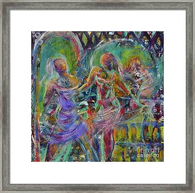 Letting Go Framed Print by Gail Butters Cohen