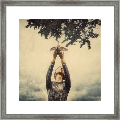 Letting Go Framed Print