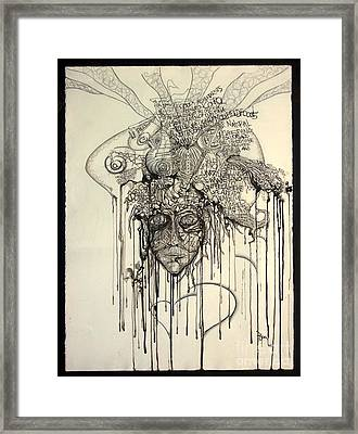 Letting Go Framed Print by Rory Canfield