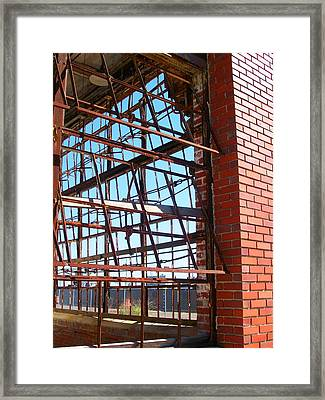 Letting The Air Out Framed Print by Edmund Akers