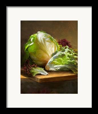 Vegetables Framed Prints