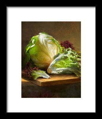 Vegetables Framed Prints