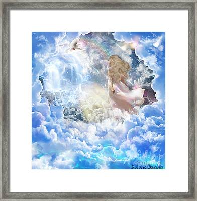 Lev Tahor / Clean Heart Framed Print by Dolores Develde