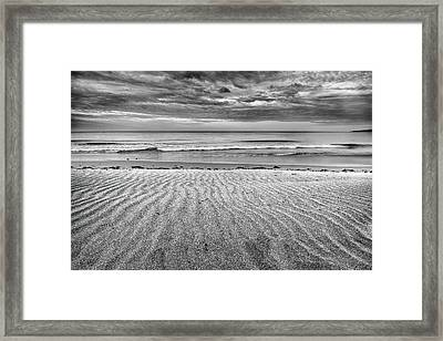 Levante Wind Bw Framed Print