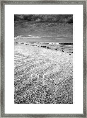Levante Wind  Mono Framed Print