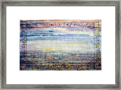 Level Valley Framed Print by Tom Hefko