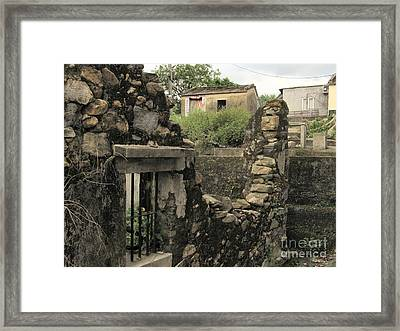 Levels Of Time Framed Print by Kathy Daxon