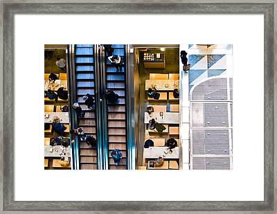 Levels Framed Print by William Bray