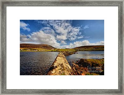 Leverburgh Framed Print