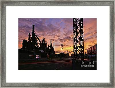Framed Print featuring the photograph Levitt Pavilion by DJ Florek