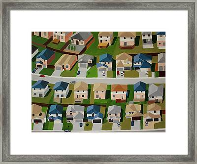 Levittown, Pa Framed Print by Toni Silber-Delerive