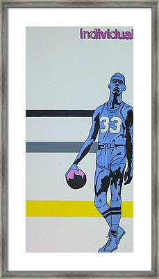 Lew Alcinder Framed Print by Justin Farmer