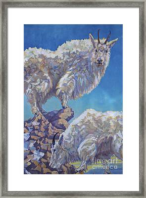 Lewis An Clark Framed Print by Patricia A Griffin