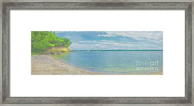 Lewis And Clark Lake Framed Print