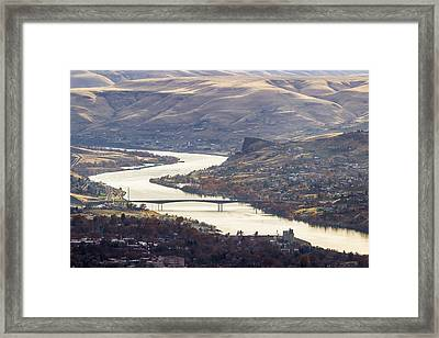 Lewis Clark Valley Framed Print by Brad Stinson